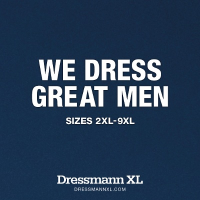 Dressmann XL WE DRESS GREAT MEN